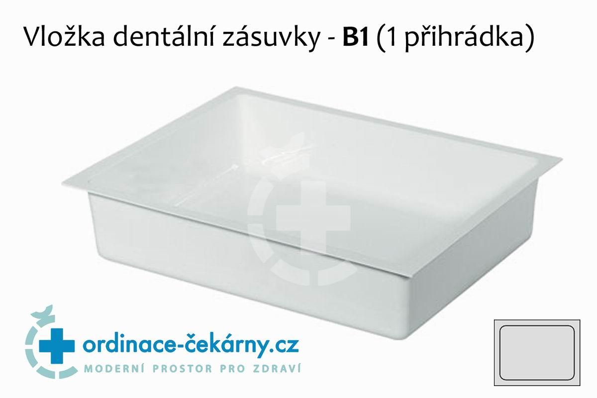 Vložka do zubařské skříňky