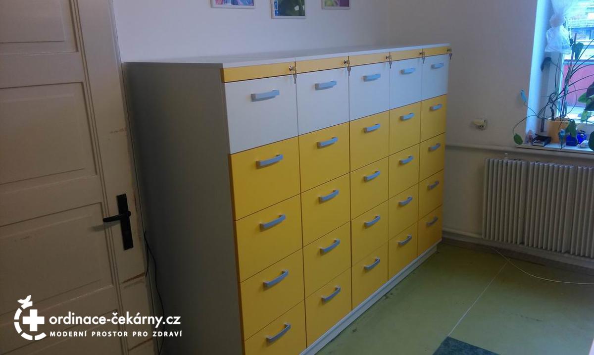Nábytek do ordinace praktického lékaře