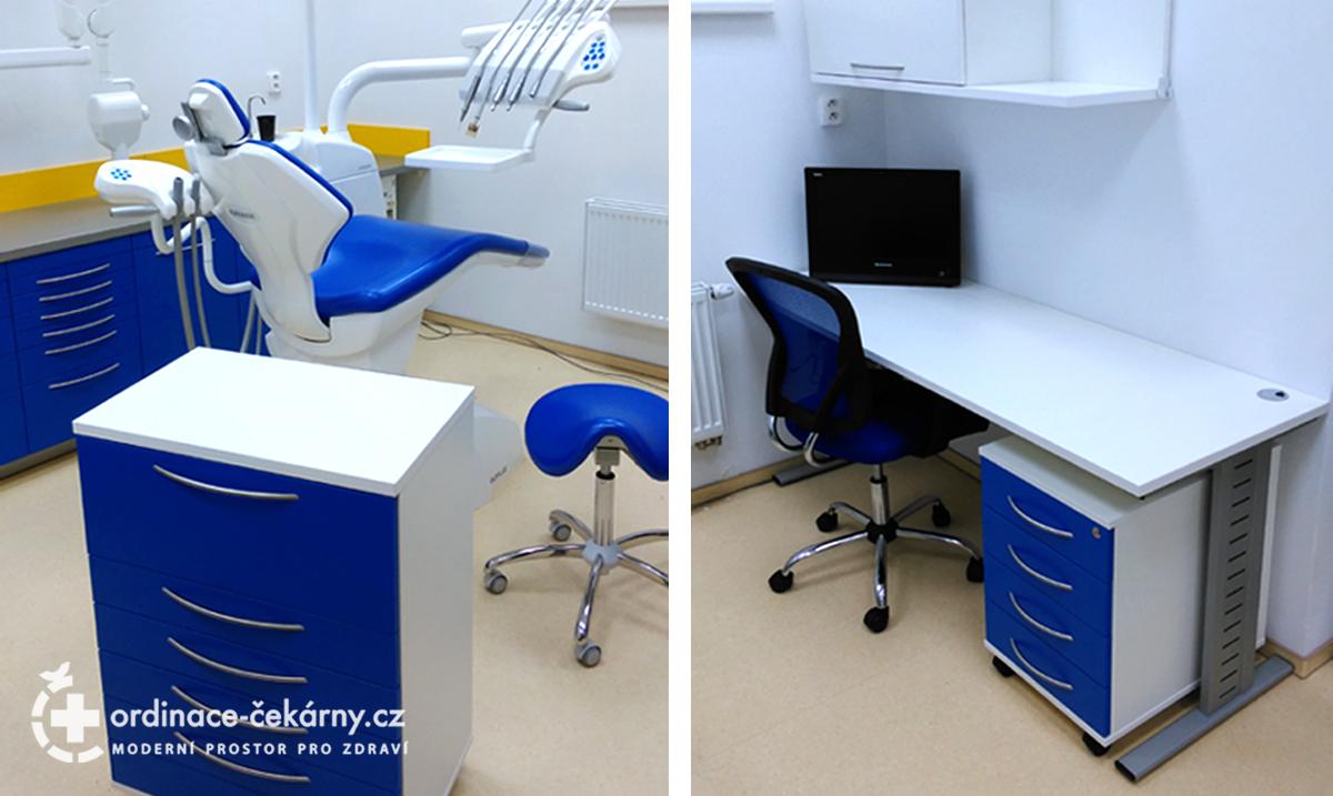Nábytek do zubařské ordinace